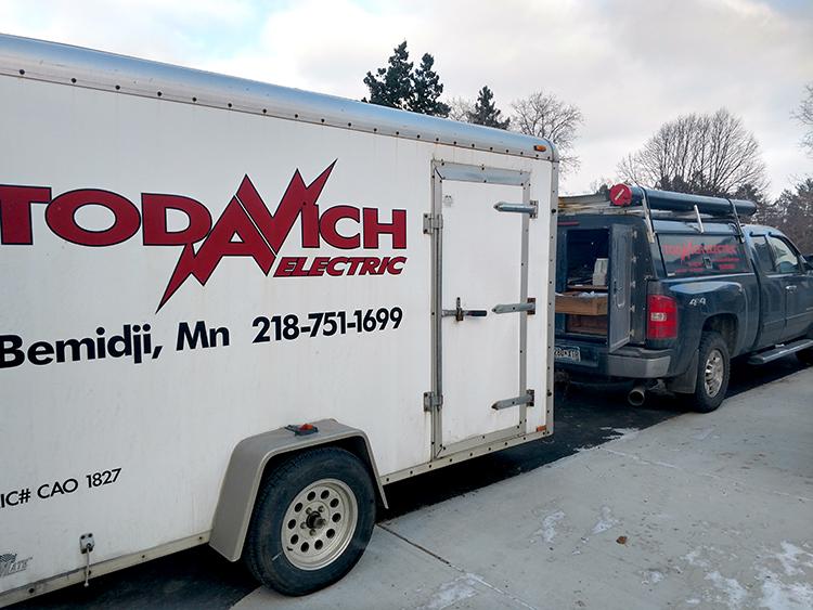 Todavich Electric Trailer